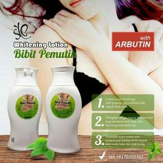Lotion pemutih