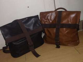 Re-PRICE!!! Pre love Authentic 100% leather bag