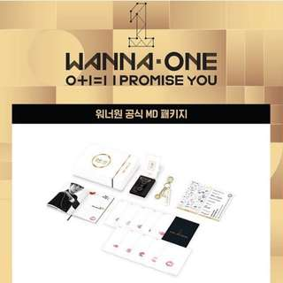 Wanna One IPU Merchandise Set