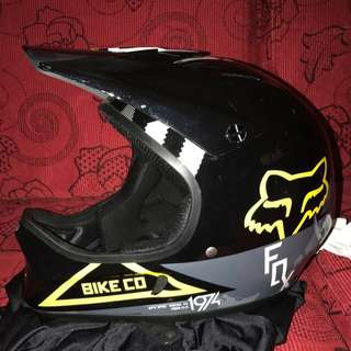 Fox full face helmet