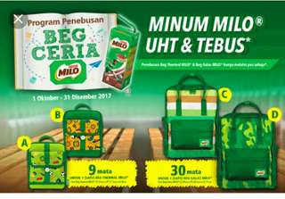 Milo Ceria lunch bag