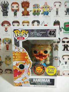 Funko Pop Hanuman Glow In the Dark Vinyl Figure Collectible Asia Exclusive GITD