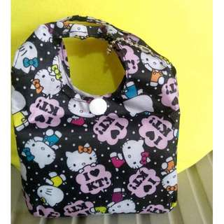 hello kitty eco bag 13x16""
