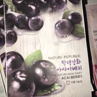 Sheet Mask nature republic