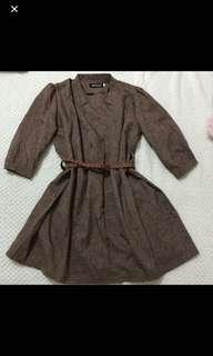 Vintage Style Smock Dress