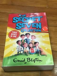 Enid Blyton the secret seven collection 1-3