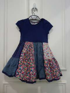 12-18 months Mothercare Country Dress