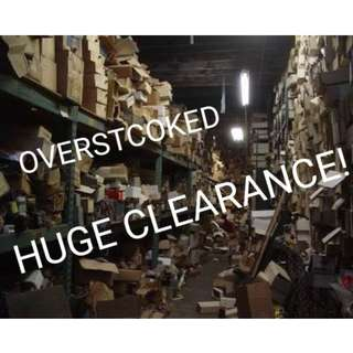 HUGE OVERSTOCK CLEARENCE! OFFER ME 😄