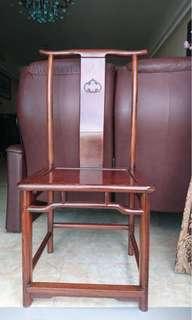 雞翅木中式椅子