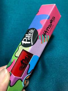 NEW - Polka Matteness Lip Lacquer RED