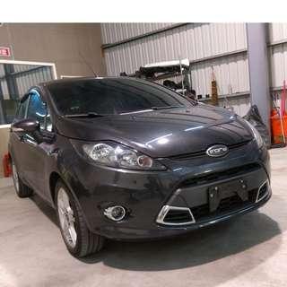 2013年 FIESTA 5D鐵灰色 1.6    大桃園優質二手中古車買賣