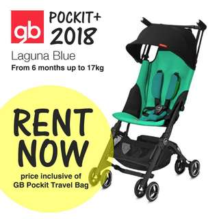 GB Pockit+ Gold 2018 (Turquoise) for rent!