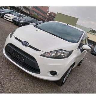 2013年FIESTA 4D 1.6 白色     大桃園優質二手中古車買賣