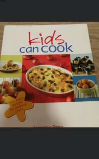 Kids Can Cook   :Fun, Tasty Recipes for Budding Chefs  Jernnine Pang  Marshall Cavendish Cuisine,Cookbooks-113 pages