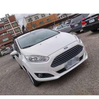 2014年 FIESTA 5D 1.5 白色頂級     大桃園優質二手中古車買賣