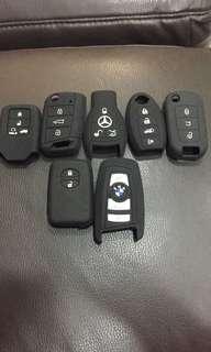 Silicon car key cover