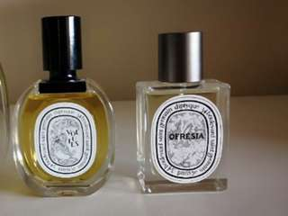 Diptyque perfume three different ones