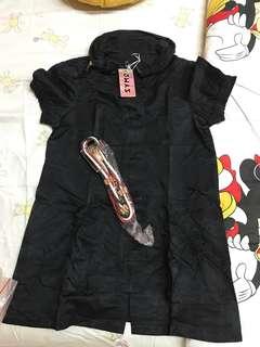 Black babydoll