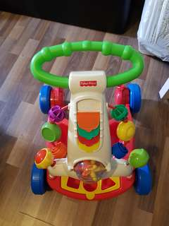 Fisher Price Walker suitable for baby 9mo and above who is learning to walk