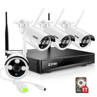 474. ZOSI Wireless CCTV Security Systems