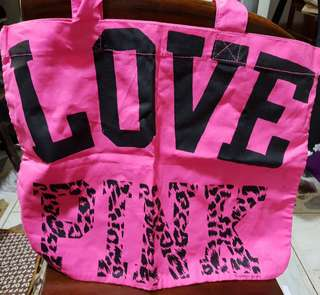 PINK Victoria Secret Cotton blend tote