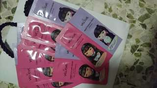 Velieve cc and milky pudding sample 7pcs