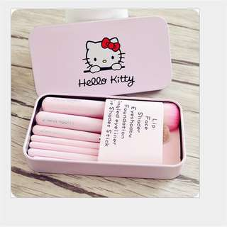 Hello Kitty Brush Set 7pcs