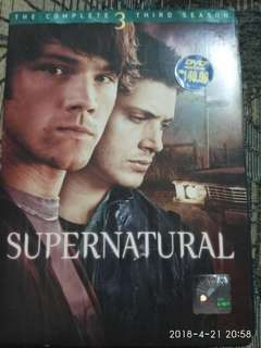 DVD SUPERNATURAL Series Season 3