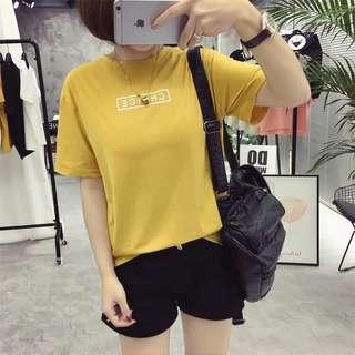 韓版 印花T恤