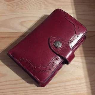 vintage wallet 復古真皮銀包 古著
