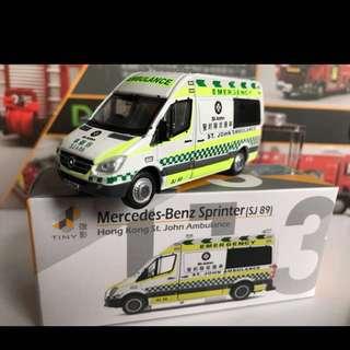 Tiny 城市 113 聖約翰救護車