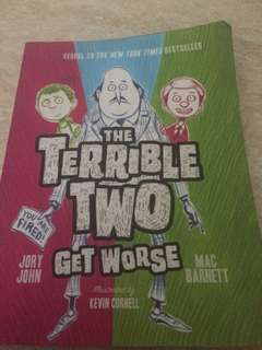 HURRY FOR SALE The Terrible Two Book