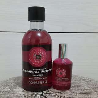 The Body Shop - Early Harvest Raspberry Series