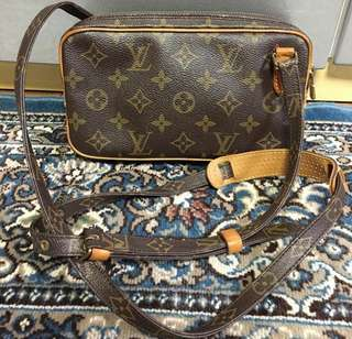 Authentic Louis Vuitton Marly Bandouliere Sling Bag