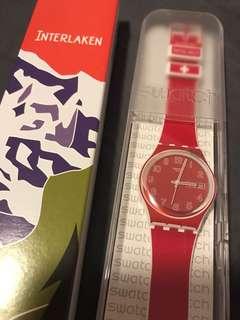 BNIB Swatch Watch from Switzerland Interlaken