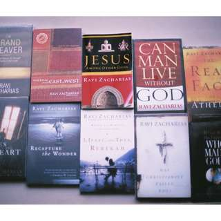 Ravi Zacharias Books ( RZIM ) ( Apologetics )