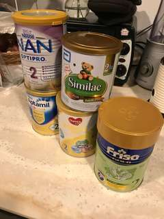 Free! Small cans 400g Baby Formula Self collect Only