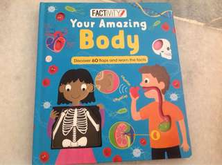 Your Amazing Body-lift the flap book