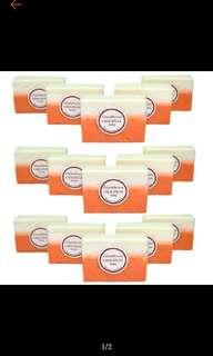 Glutathione whitening beauty soap set of 15