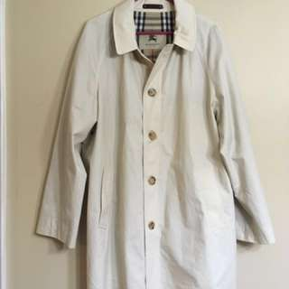 Authentic Burberry London trench coat * large*