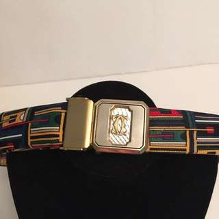 Authentic Vintage Cartier belt buckle