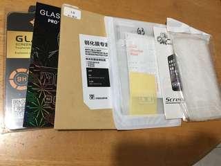 LG G3 鋼化mon貼 & 透明軟殼 & 後mon貼