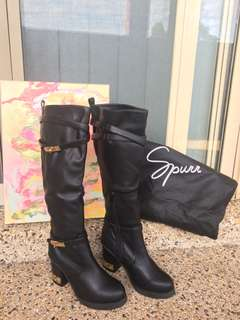 Spurr Knee High Boot