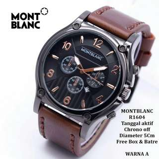 Jam tangan Montblan* 'rnv