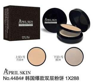 April skin powder 2in1