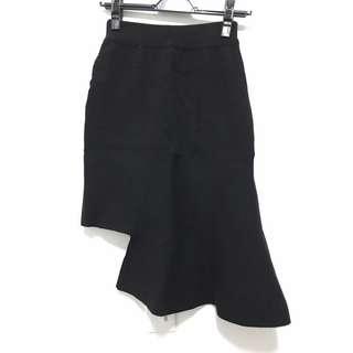 🚚 韓國不規則魚尾針織裙