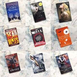 Various English Novels #SWAP