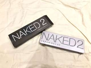 Naked 2 - eyeshadow palette