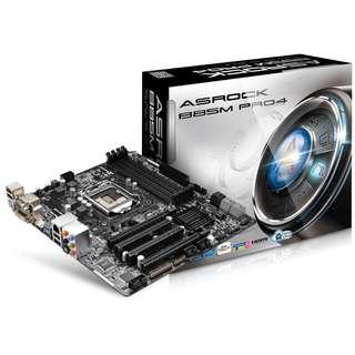 Asrock B85M Pro4 motherboard