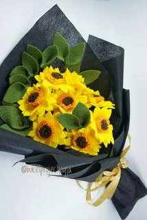 Buket bunga matahari #CarousellCintaBumi